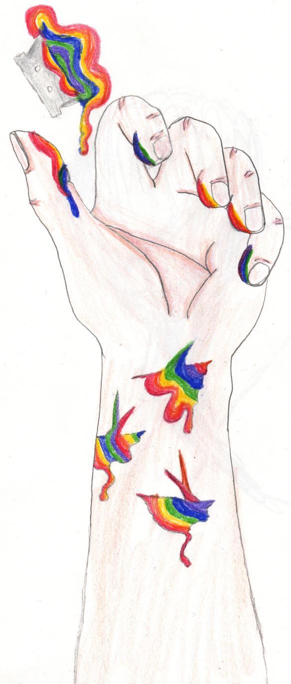 Self Harm By SunnyShirubi On DeviantART
