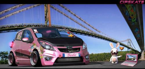 Chevrolet Spark Pinky