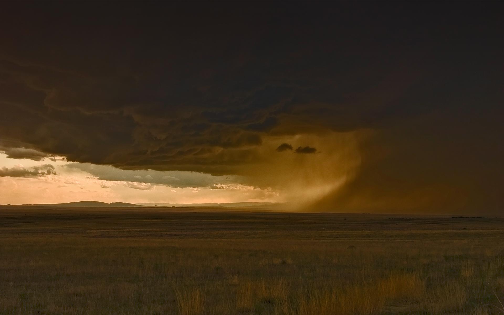 Storm on Southwest Plains III by elektronika7