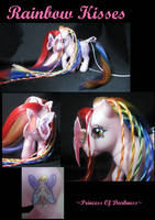 Rainbow Kisses by DeepDarkCreations