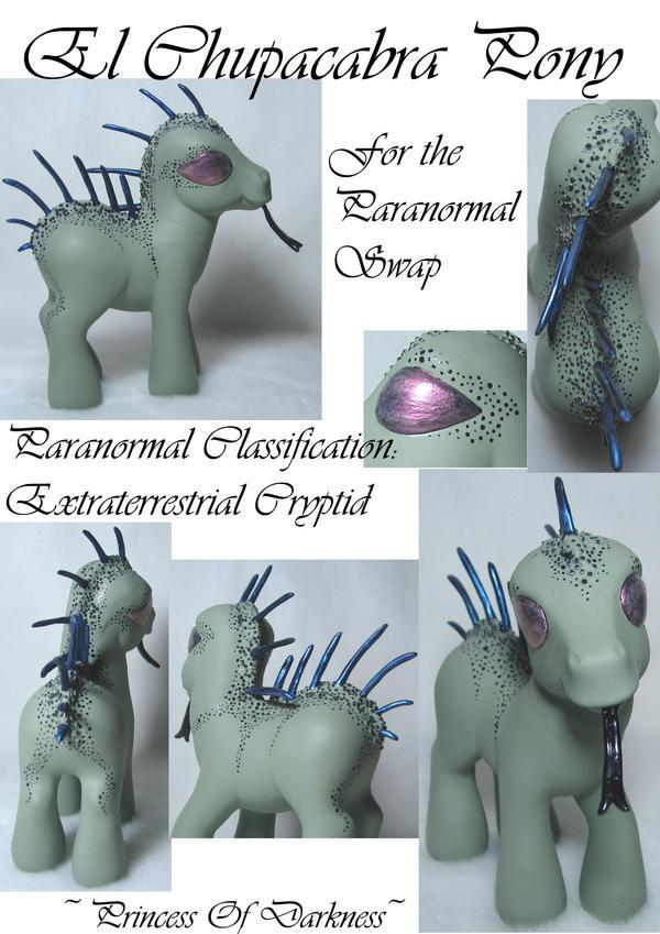 El Chupacabra Pony by DeepDarkCreations