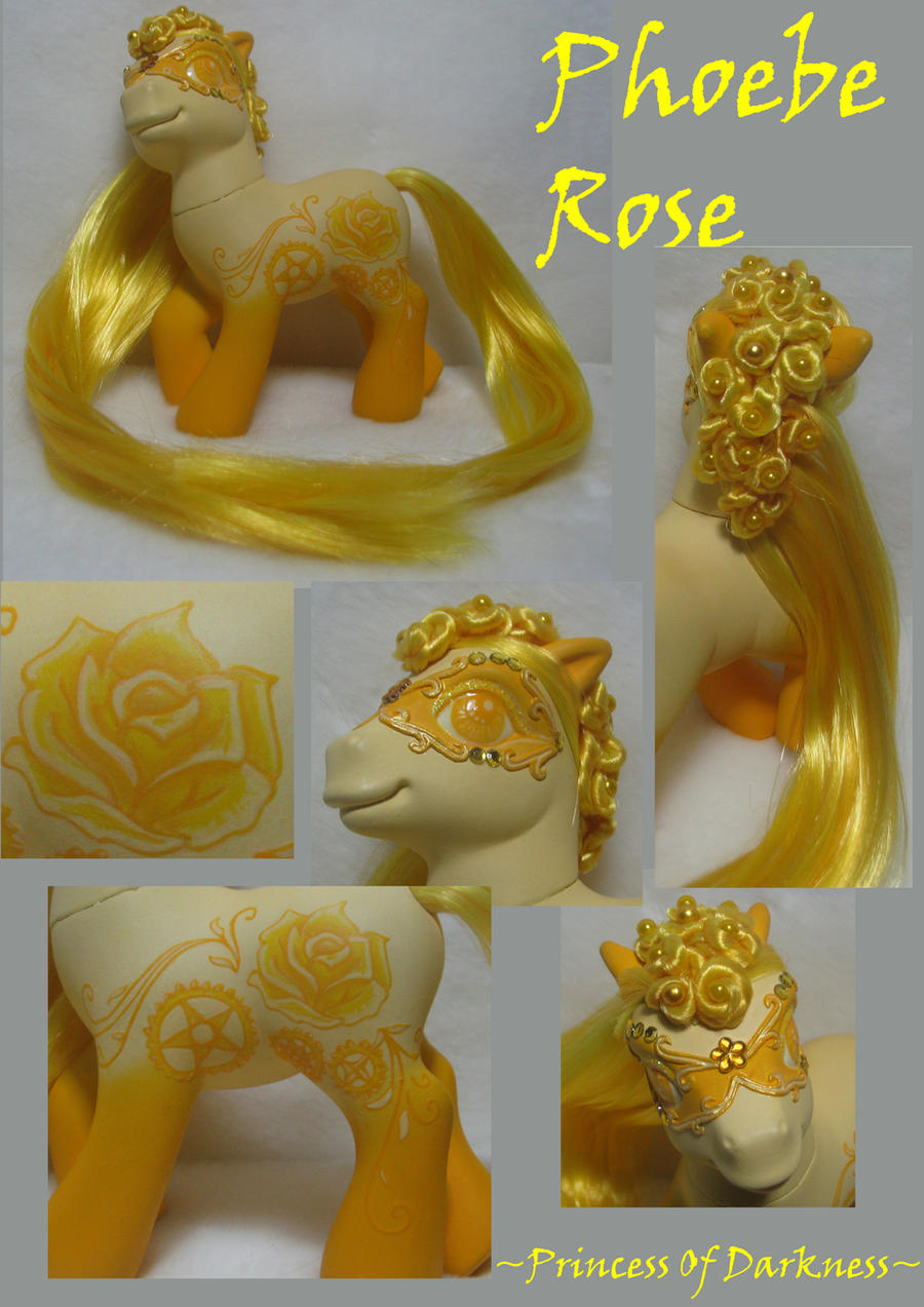 Phoebe Rose by DeepDarkCreations