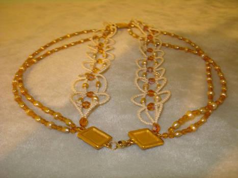 Golden Chances OOAK Necklace