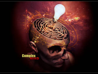 Complex Mind wallpaper by McSlither