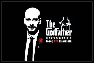 Pep Guardiola the Godfather by McSlither