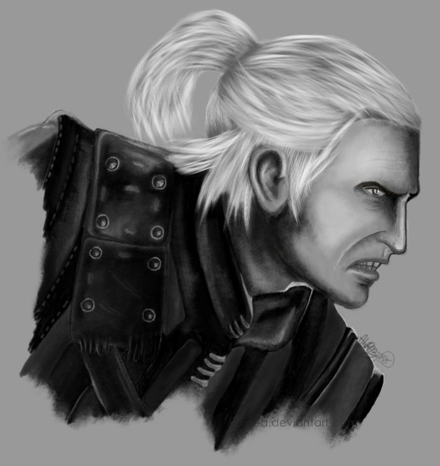 Geralt of Rivia by Kalpea