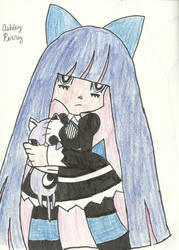 Stocking and Kitty