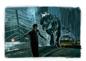 WIP Jurassic Park by JaHueto