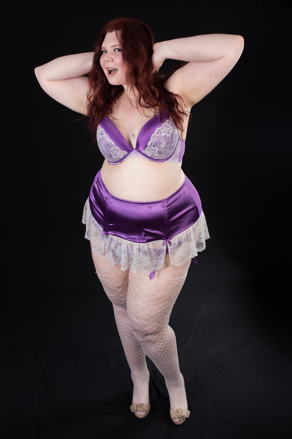 Purple Pinup Set 002 by ClassyDamePinup