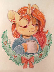 A perfect cocoa cup by Trickate