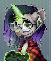 Gamer gurl by Trickate