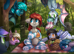 Picnic surprise by Trickate