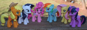 My Little Pony Friendship is Magic Custom Set