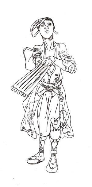 Diary Of A Samurai Kasukai