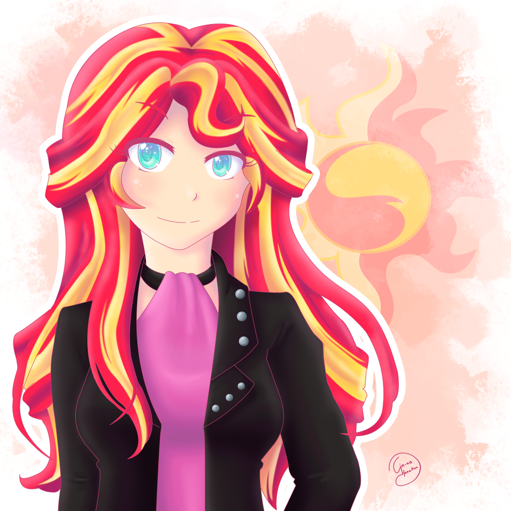 sunset shimmer my little pony equestria girl by