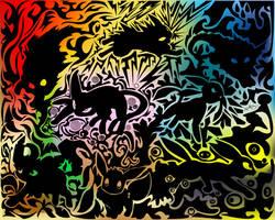 eevee by edgar-daffy