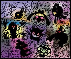 Fiesta de Fantasmas by edgar-daffy