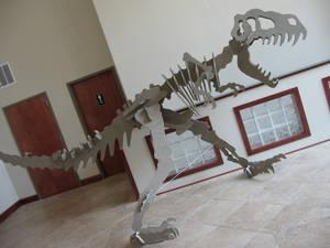 12 Foot Wooden T-Rex 2