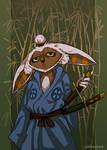 Samurai Momo by zimbaubwa