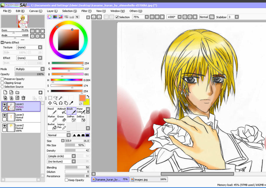 Paint tool for Paint tool sai free full version