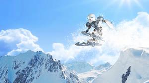 Kopaka Nuva skiing