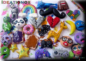 Assortment of Charms ~ Ideationox by Ideationox