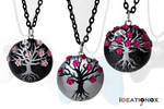 Cherry Blossom Trees by Ideationox