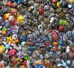 So many necklaces! Too many necklaces? Naahhhh