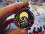 The Nightmare Before Christmas Hill Scene Charm.