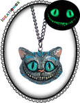 Cheshire Cat OOAK Necklace