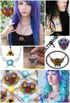 Legend of Zelda inspired Necklaces