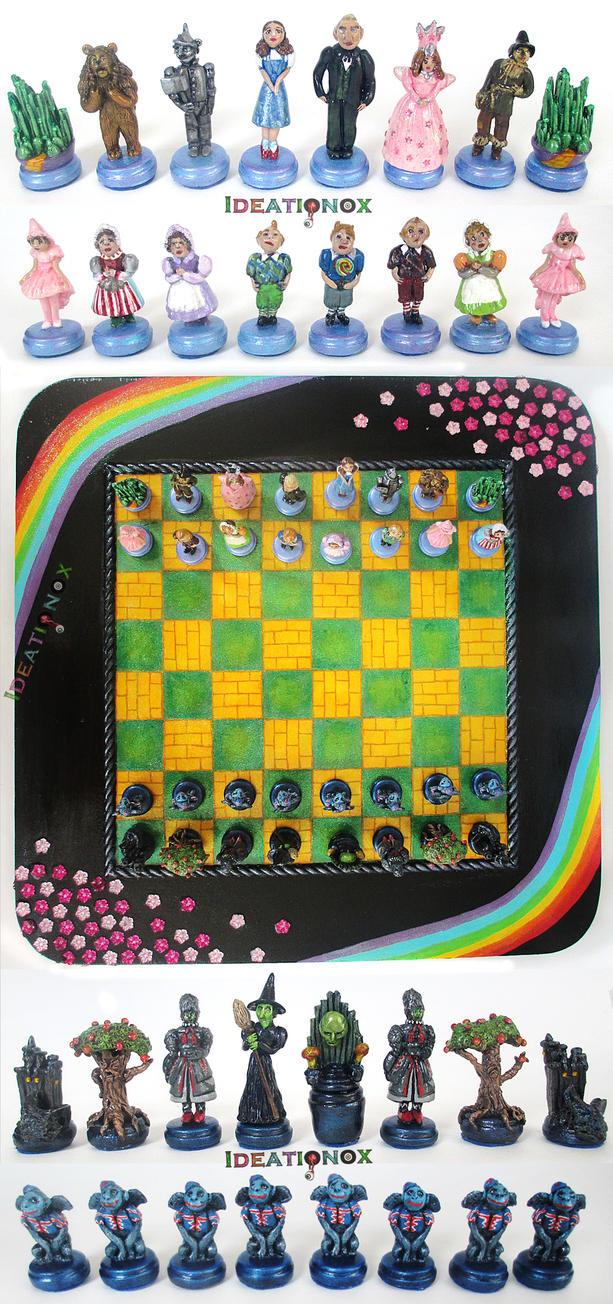 Chess Set Birthday Cake
