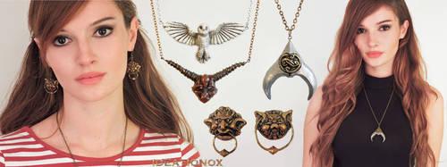 Labyrinth inspired Jewelry Set