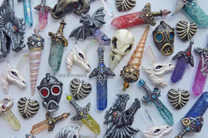 Unique Jewelry Creations by Ideationox