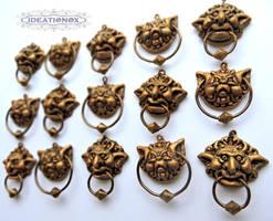Labyrinth Door Knocker Earrings