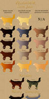 Cat Pelt Colors Guide