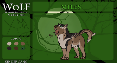 Miles Wolf App by lilwyverngirl