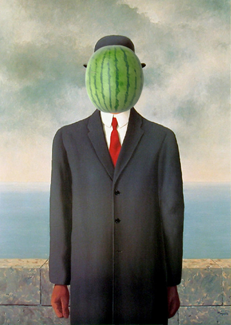 Rene Magritte The Son Of Man Son of Man by JourneyF...