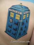 TARDIS tattoo