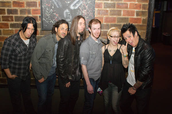 Papa Roach and us at Piere's