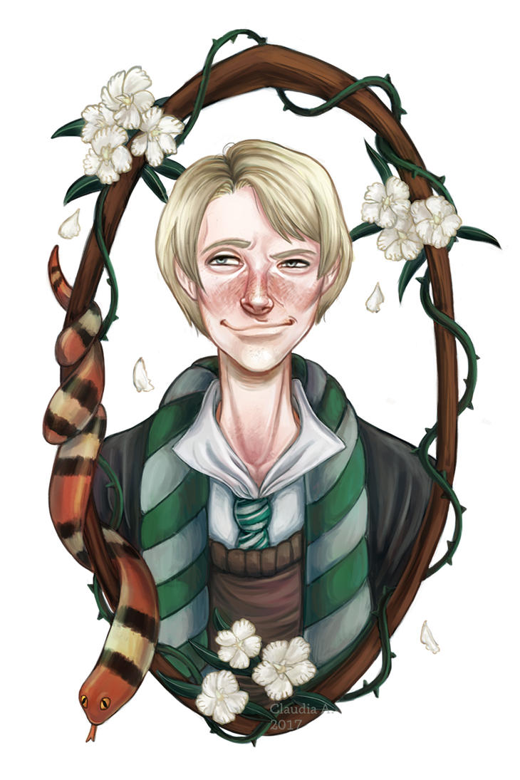 Young Draco by mie-ciel