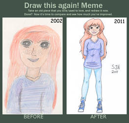 Freckles 2002-2011 by 3Fangs