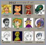 Art Summary of 2012