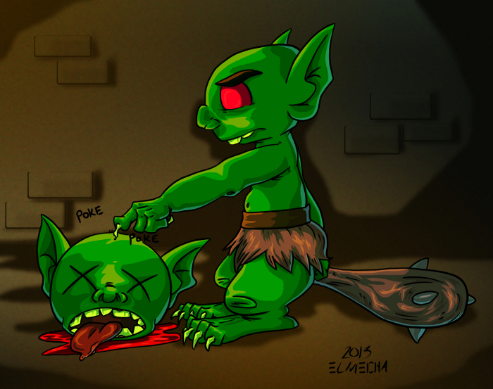 Gobbo PokePoke by 3Fangs