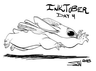 Inktober 2018 Day 4 by 3Fangs