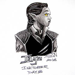 Inktober 2018 Day 8 by 3Fangs