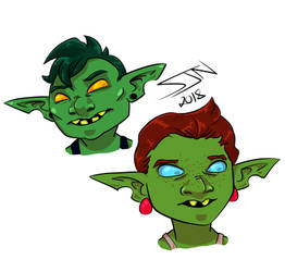 Gobbo gals. by 3Fangs