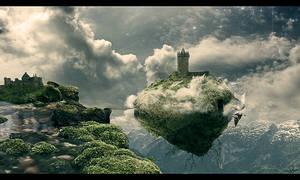 Floating Island by Olgola