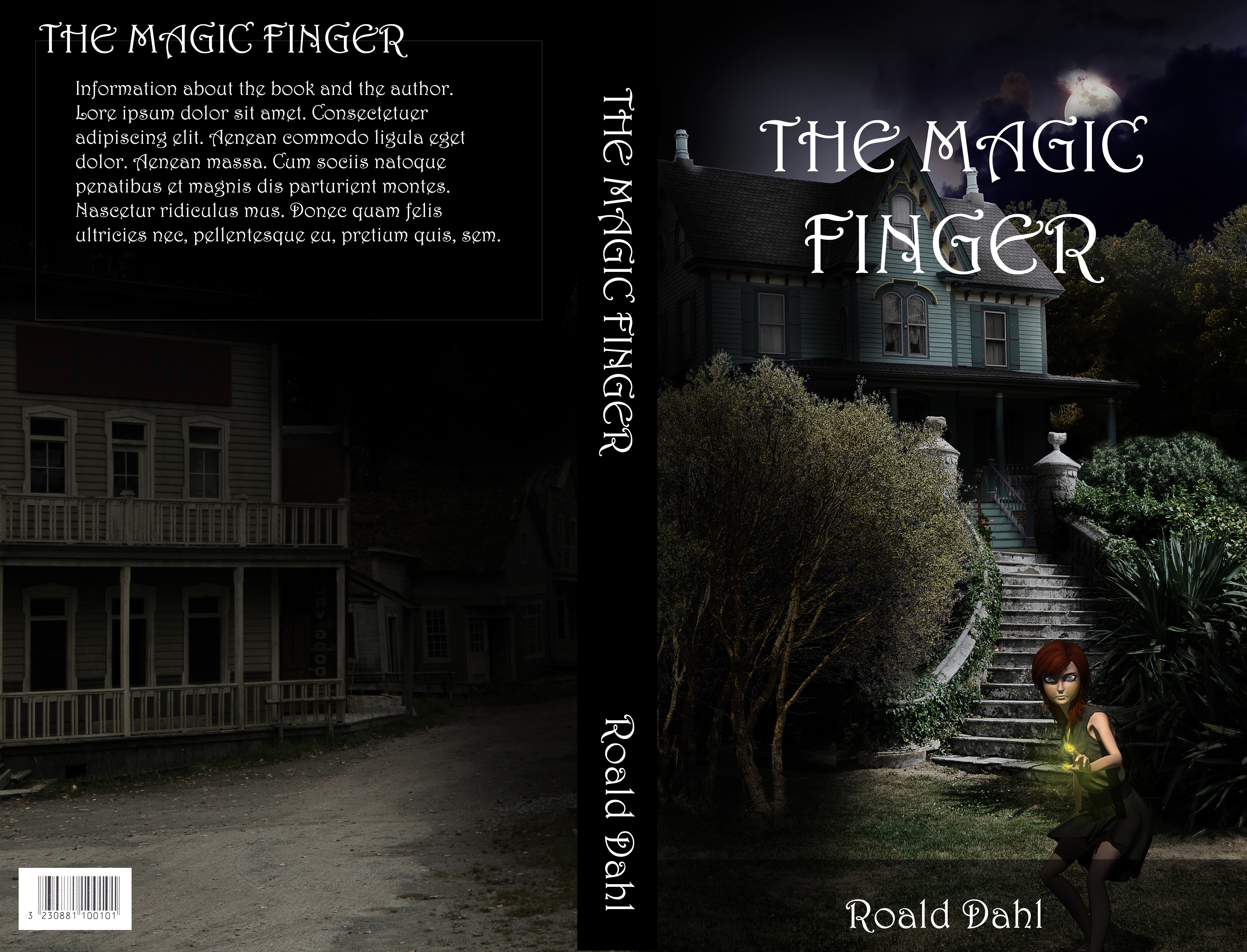 Book Cover - The Magic Finger