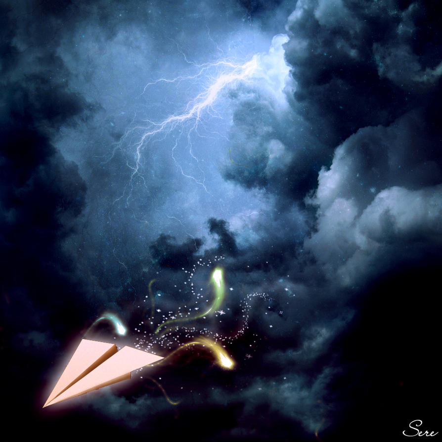 Storm escape by Olgola